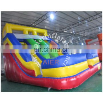 double lanes dry slides/inflatable slide game