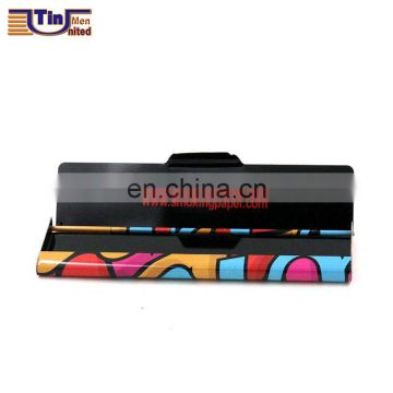 Small Hinged Lid Tin Cigarette Box