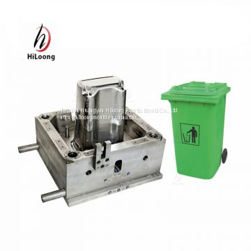 best seliing products high quality plastic injection garbage bin mold