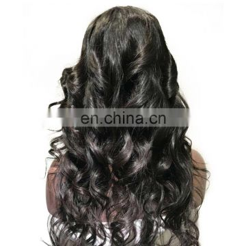 Body wave red hair extension virhin full lace wigs