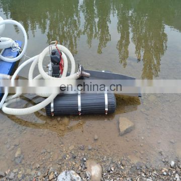 Chinese Factory Price 2 Inch Mini Gold Mining Dredge gold separating machine river boat