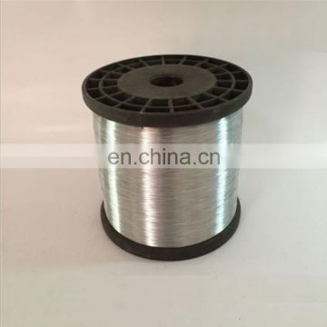 Zinc Coated Iron Wire hot dipped galvanized 0.13mm scourer wire