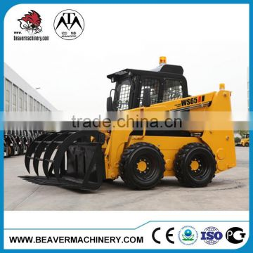 Mini Loader Wheel Loader Skid Steer Loader with Joystick control For Sale