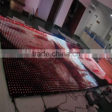 flexible led display led video curtain