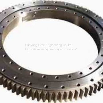 Rks. 062.25.1424 Deck / Ship Crane Three Row Roller Slewing Bearing