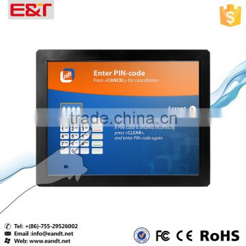 "USB interface Infrared 12"" touch screen,IR touch screen overlay kit,ir touch panel frame for POS/ATM/Kiosk"