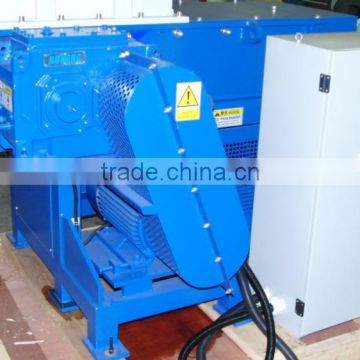 waste big plastic pipe single shaft shredder