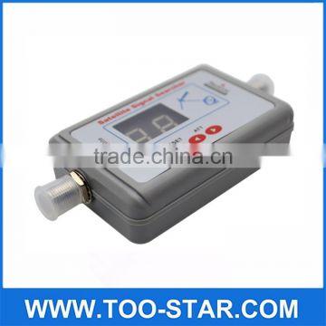 Digital LCD Display Satellite Signal Meter Finder Dish Direc TV