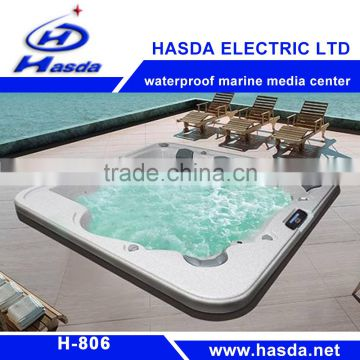 good audio product used for Hydro massage rectangular bathtub, portable spa tub for adult