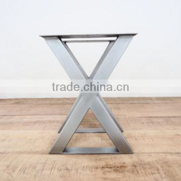 Modern Stainless Steel Dining Table Feet For Wood Furniture Design - 4 foot stainless steel table