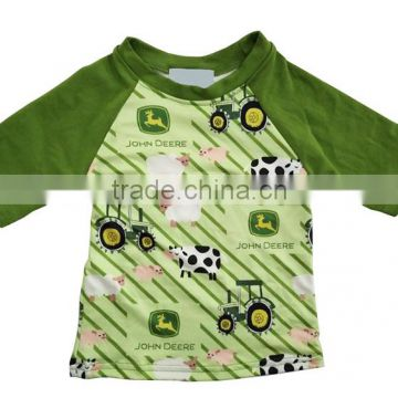 wholesale kids summer raglan boy spring clothes tractor pattern children  boutique from China of Soft cotton T-shirt from China Suppliers - 144928620 77f9215c9