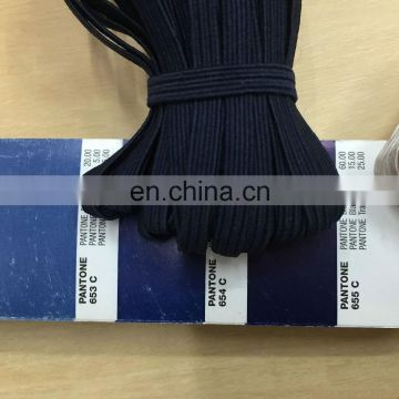 stock colored 6mm flat elastic book band