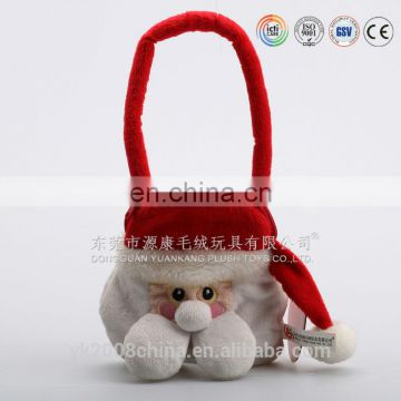 Wholesale cheap plush Christmas stocking
