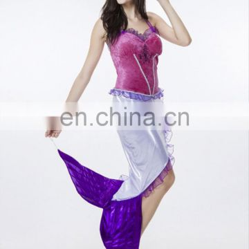 Cheap Factory Price Women's Halter Mermaid Sex Cosplay Costume