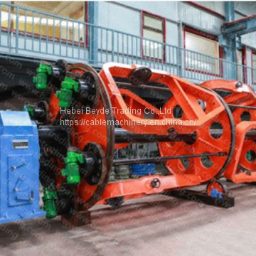 laying-up machine. cable manufacturing equipment for stranding and armoring