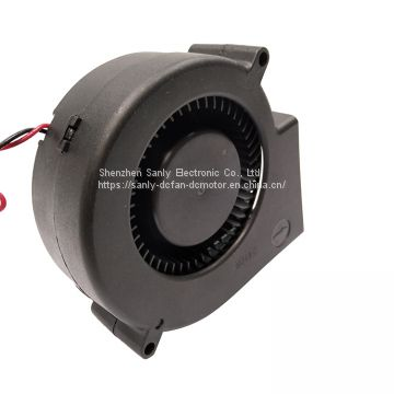 95.7x97.8x33mm 12v dc brushless ventilation usage centrifugal blower fan