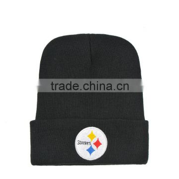 Men's Women's Beanie Hat Unisex football team Warm Winter Knit Fashion Hat Hip-hop Beanie Hats