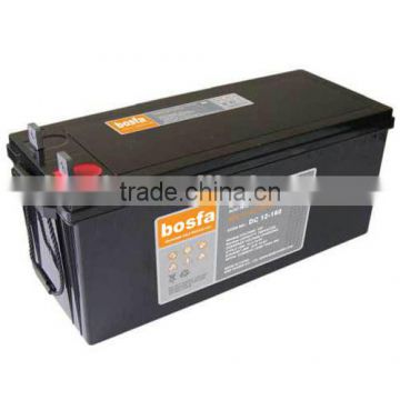 battery importer 12v160ah battery with ul energy storage battery for tender