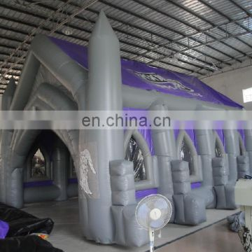 Creative inflatable wedding events inflatable PVC material large church tent for outdoor prayer