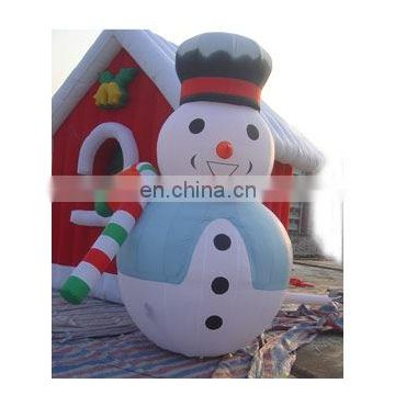 inflatable snowman, inflatable xmas snowman