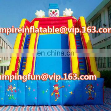 Medium size inflatable slide for outdoor or indoor ID-SLM090