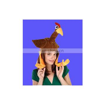Brown Turkey Hat with Feet
