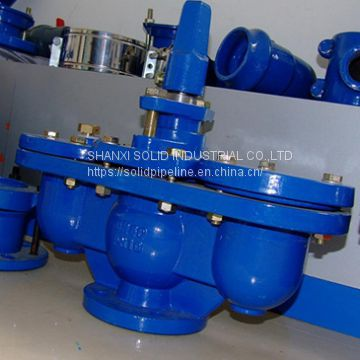 Double Orifice Air Valve