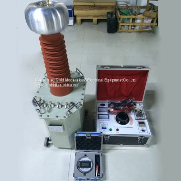 GDJ AC DC hipot tester oil immersed type testing transformer