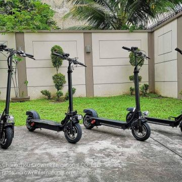 powerful  foladable 2 wheel electric scooter with APP connected cellphone with bithium battery