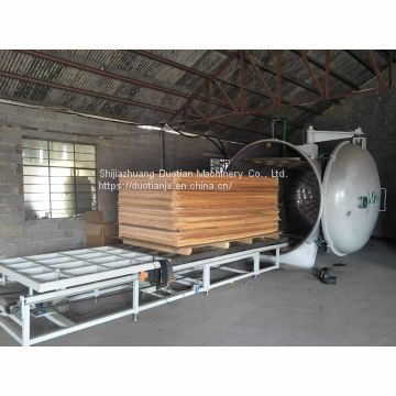 High frequency vacuum timber/wood dryer for furniture factory