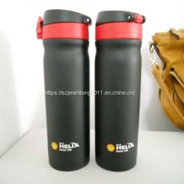 Gift box packing Stainless steel double wall vacuum flask with logo customition