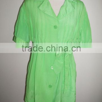 silk blouse/silk dress/silk tops