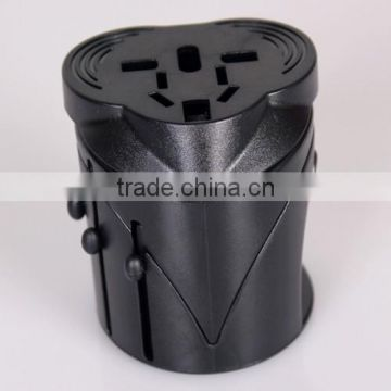 Universal world AC DC power socket converter plug adapter extension international travel adaptor for US UK AU