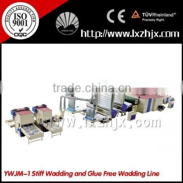 YWJM-1 Stiff Wadding and thermo-bonding wadding production line
