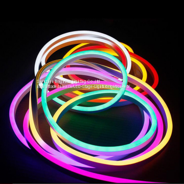 flamingo animated display open store shop ad signs cable strip 5050 RGB  color changing led neon flex