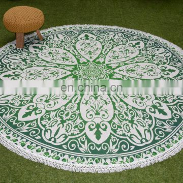 Factory price special design naturally 100% cotton round disposable table cloths