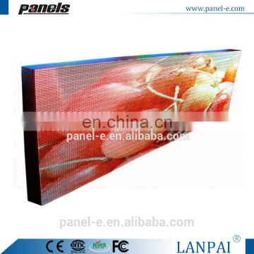 LANPAI Factory Price P10 RGB full color outdoor advertising led display screen
