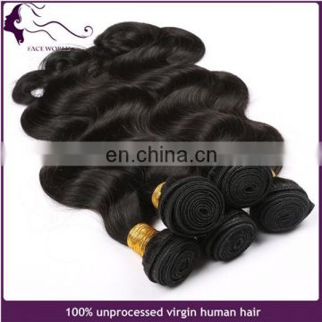 Factory price whoesale brazilian body wave hair