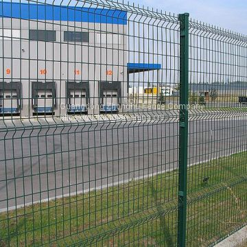 China vinyl coated Steel Welded Wire Mesh Residential Fencing