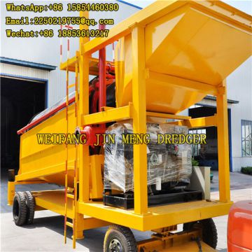 120 Tons/hr River Sand Gold Mining Machinery No Pollution