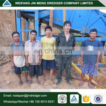 China small diamond or gold mining dredging machine for sale from hill or river bank
