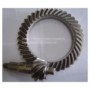 Customize Axle Spiral Bevel Gear Set For Light Truck