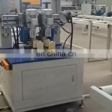Excellent aluminum profile knurling thermal break machine with strip feeder for window and door