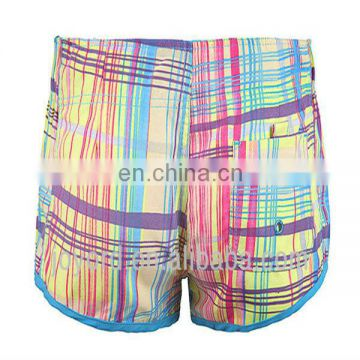 OEM service breathable plaid wholesale beachwear