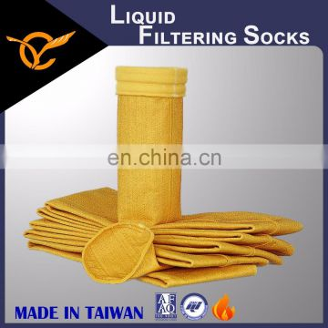Fire Resistant Carbon Black Industry Nomex Liquid Filtering Socks