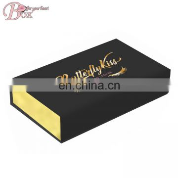 Luxury Paper Flip Jewelry Box Custom Logo