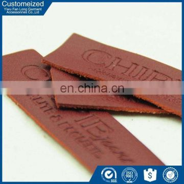 China facroty factory custom Recycled leather hang tag