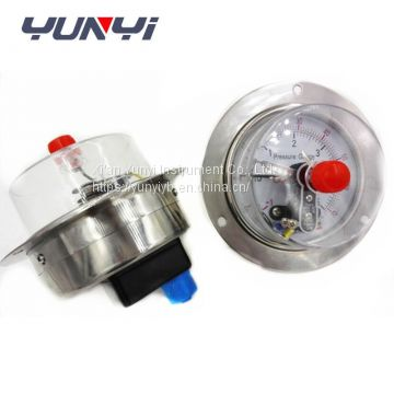 air water hydraulic electric contact pressure gauge