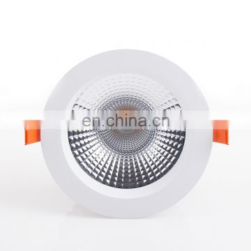 LED Sunflower Downlight for commercial lighting with external driver makes more brighter