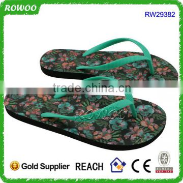 Summer Print flat sandals for ladies pictures